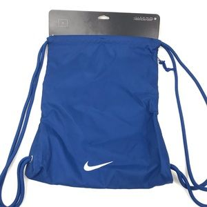 Nike Bags - New Nike Have a Nike Day Smile Draw String Gym Bag
